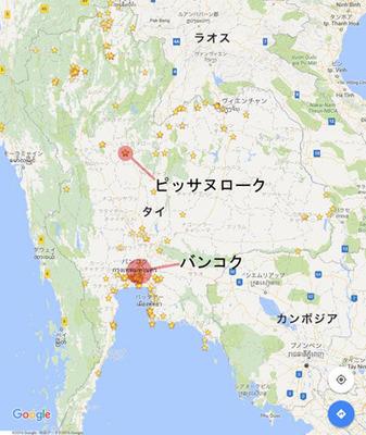 ピッサヌローク地図.jpg