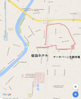 ピッサヌローク散歩ルート.jpg